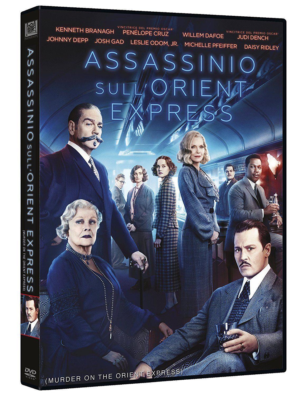 ASSASSINIO SULL'ORIENT EXPRESS (DVD) NUOVO, ITALIANO, ORIGINALE