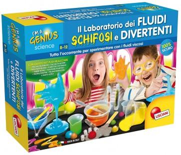 Lisciani Giochi 62287 - I'm a Genius Il Laboratorio dei Fluidi Schifosi e Divertenti