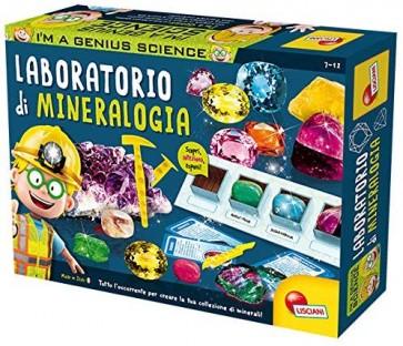 Lisciani Giochi 56194 - I'M a Genius Laboratorio di Mineralogia