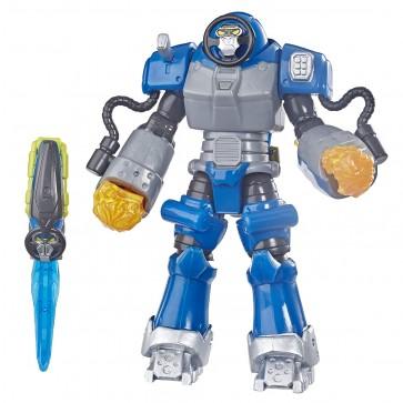 Power Rangers- Beast Morphers. Smash Beastbot Action Figure, da 15 cm