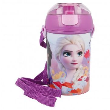Frozen. Borraccia con cannuccia. Disney