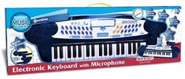 Music Academy Genius Tastiera Elettronica A 37 Tasti con Microfono