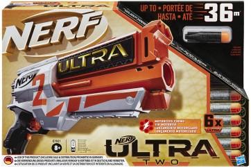 Nerf Ultra. Two (Blaster motorizzato a retrocarica rapida, 6 dardi Nerf Ultra, compatibile solo con i dardi Nerf Ultra)