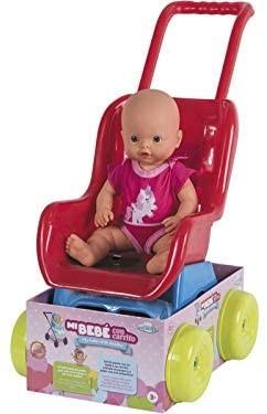 Bambola con passeggino
