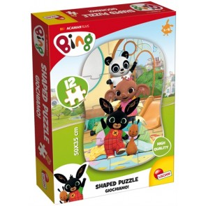 Bing. Shaped Puzzle 12 PZ