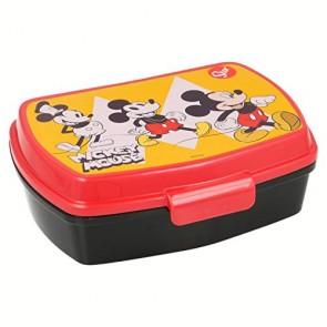 Mickey Mouse 90 Anni. Contenitore porta merenda per pranzo scuola. Disney