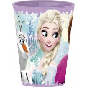 Frozen. Bicchiere in plastica dura 260 ml