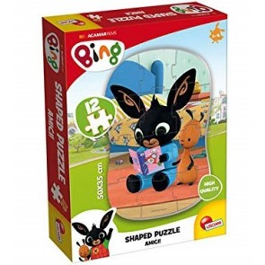 Bing. My First shaped puzzle 12 Pz. Amici