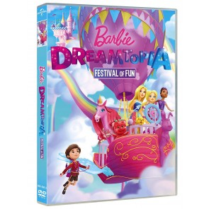 Barbie. Festival del divertimento (DVD) (Barbie Dreamtopia: Festival of Fun)