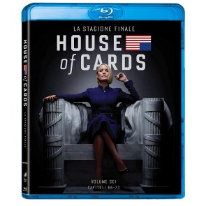 House of Cards. Stagione 6. Serie TV ita (3 Blu-ray)