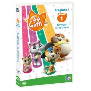 44 gatti vol.1. Con card da collezione (DVD)