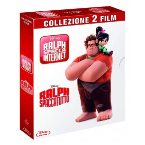 Cofanetto Ralph Spaccatutto + Ralph Spacca Internet (2 FILM) (Blu-ray)
