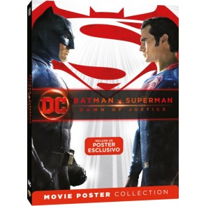 Batman V Superman. Dawn of Justice. Movie Poster (DVD)