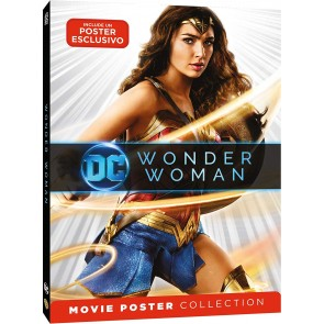 Wonder Woman. Movie Poster (DVD)