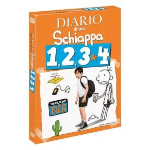 Diario di una schiappa 1-2-3-4 (4 DVD)
