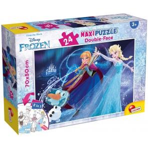 Frozen. Df supermaxi puzzle Double-face 24 pz.