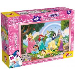 Principesse Disney. Df Supermaxi Puzzle Double-face 108 pz. 70 x 50 cm