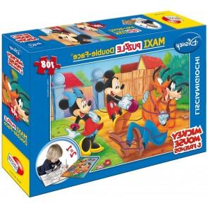 Mickey Mouse. Df Supermaxi Puzzle Double-face 108 pz. Disney