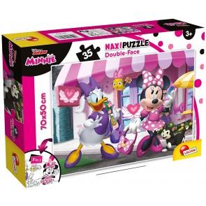Minnie. Df Supermaxi Puzzle Double-face 35 pz. 70x50 cm. Disney