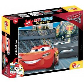 Cars 3. Df Supermaxi Puzzle Double-face 35 pz. 70x50 cm