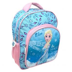 Frozen. Zaino asilo 2 zip Disney con tasca - Sagome 3D Deluxe (30 Cm)