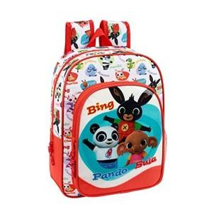 Bing. Zaino con tasca per scuola asilo 2 zip (34 cm)