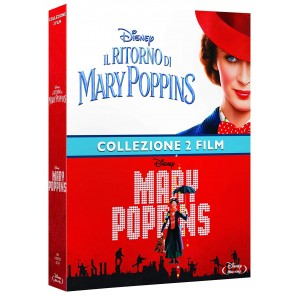 Cofanetto Mary Poppins (2 Film in Blu-ray)