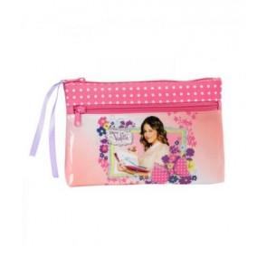 Violetta Flowers - Astuccio Grande 2 Zip