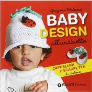 Baby Design All'uncinetto Cappellini e Scarpette di Cotone