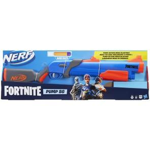 Nerf Fortnite Pump Sg + 4 colpi mega