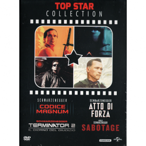 Top Star Collection - Schwarzenegger (4 Film Da Collezione)