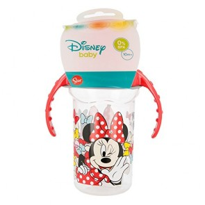 Minnie. Tazza allenamento Bambini 330 ml con beccuccio In silicone Minnie. Diseny Baby