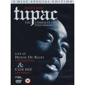 Tupac - The complete live performances (special edition)