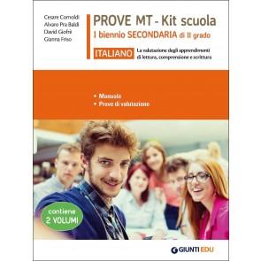 Italiano. Prove MT. Kit scuola 1° biennio secondaria di II grado