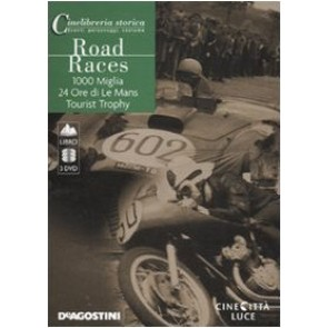 Road Races: 1000 Miglia-24 Ore di Le mans-Tourist Trophy. DVD. Con libro