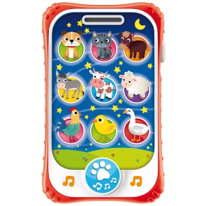 Carotina Baby Touch Phone Ninna Nanna 2 In 1