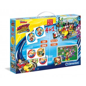 Sapientino. Edukit 4 In 1 Mickey Roadster Racers