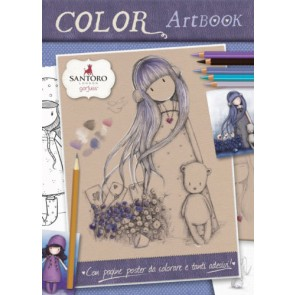 Art color book. Gorjuss. Con adesivi