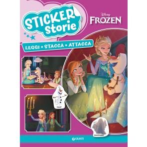 Frozen. Sticker storie. Leggi stacca attacca. Con adesivi