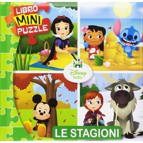 Le stagioni. Disney baby. Libro mini puzzle