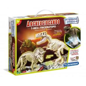 Scienza E Gioco. Archeogiocando. T-RexE Triceratopo