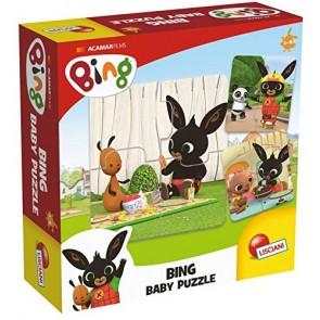 Bing. 8 Mini Puzzle da 4 PZ - Bing First Puzzle