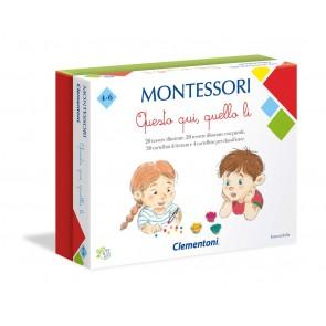 Montessori. Questo qui, questo lì