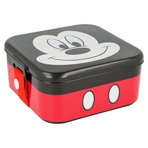 Mickey Mouse. Scatola porta merenda con coperchio