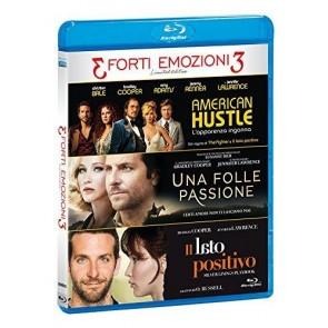 Tris Forti Emozioni - American Hustle / Una Folle Passione / Il Lato Positivo (3 Blu-Ray)
