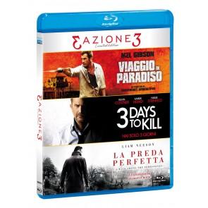 Tris Azione - Viaggio In Paradiso / Three Days To Kill / La Preda Perfetta (3 DVD)