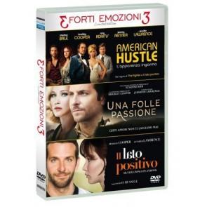 Tris Forti Emozioni - American Hustle / Una Folle Passione / Il Lato Positivo (3 DVD)