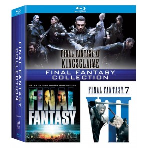Final Fantasy - Movie Collection (3 Blu-Ray)