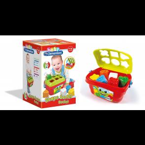 Baby Clementoni. Secchiello Forme E Colori