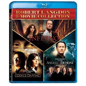 Robert Langdon 3 Movie Collection - Il Codice da Vinci + Angeli e Demoni + Inferno